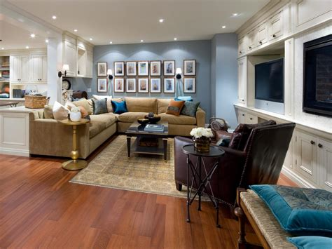 Finished Basement Decorating Ideas 10 Chic Basements By Candice Decorating And Design Ideas For Interior Rooms Hgtv