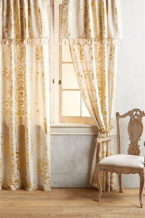 gold foil curtain gold foil curtain anthropologie