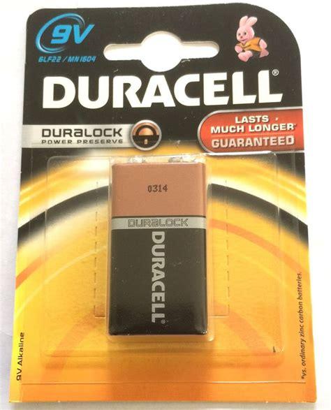 Energizer Alkaline Size 9v 6lr61 Eng 9v6lr61 2x duracell 9v battery lasting power alkaline
