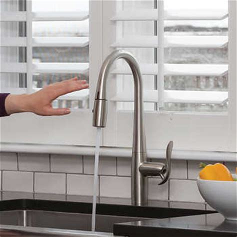 costco danze faucet efoodie hands free pull down kitchen faucet by danze with