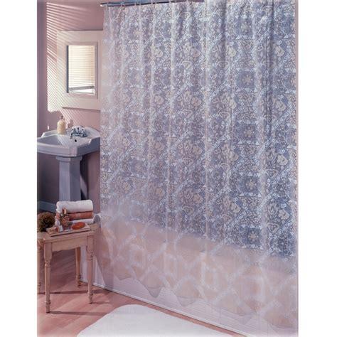 Essentials For Applying Vinyl - essential home shower curtain geneva lace vinyl