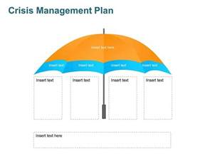 crisis plan template crisis management plan editable template for ppt
