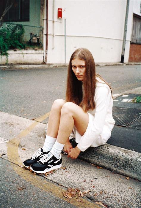 0007232799 black girl white girl white socks with reebok runners style i like