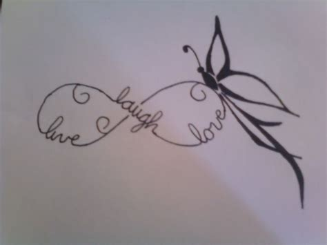 infinity tattoo with three names 25 best ideas about infinity butterfly tattoo on