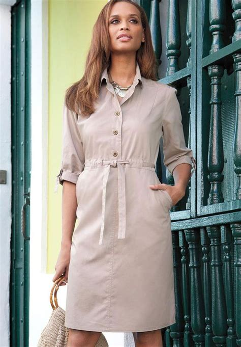what makes cotton so comfortable to wear the timeless classic plus size shirtdress in cotton twill
