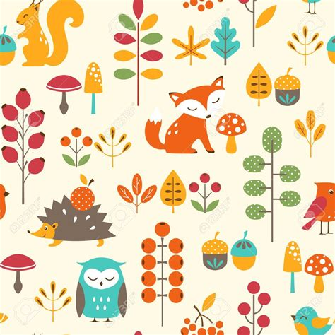 cute animal pattern background colourful fox pattern google search foxes pinterest