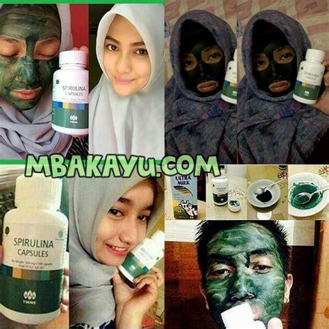 Jual Masker Spirulina Free Ongkir promo disc 22 masker spirulina tiens resmi