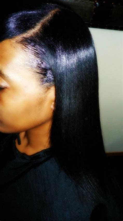 growing healthy relaxed hair healthy relaxers