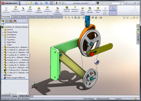 solidworks tutorial parts and assemblies solidworks assembly modeling classroom instructor led