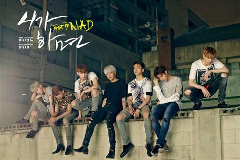 Bantal Kpop Got7 All Member got7 met en ligne la tracklist de quot mad quot soompi