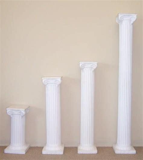 Plastic Pillars Genori S Free Shipping In Stock Cheap White One