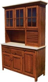 hutch pantry amish kitchen hoosier cabinet hutch baking pantry solid