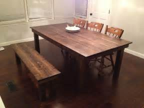 Farm House Dining Tables Custom Farmhouse Dining Table By Gypsum Valley Made Custommade