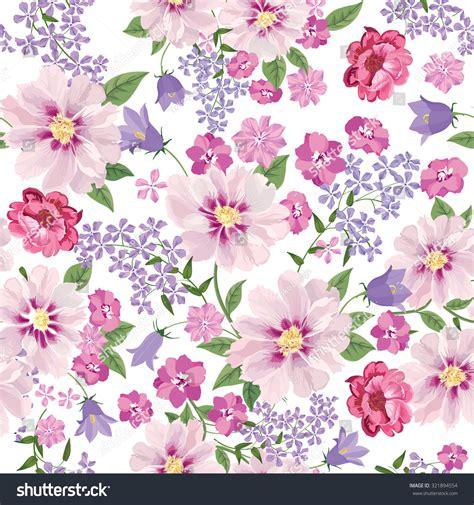 flower design tiles floral seamless pattern flower background floral stock