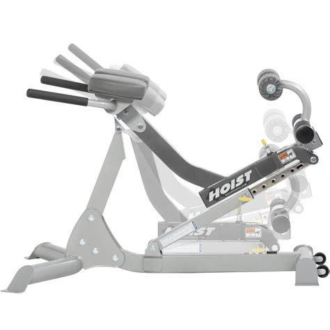 hoist hyperextension bench hoist 4664 ab back roman chair fitness equipment of calgary