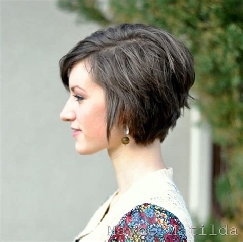 Cute Hair Styles When Growing Out Stacked | the 25 best cute short haircuts of 2012 short hairstyles