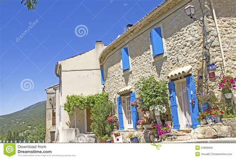 Free Home Building Plans french village provence france stock photo image of