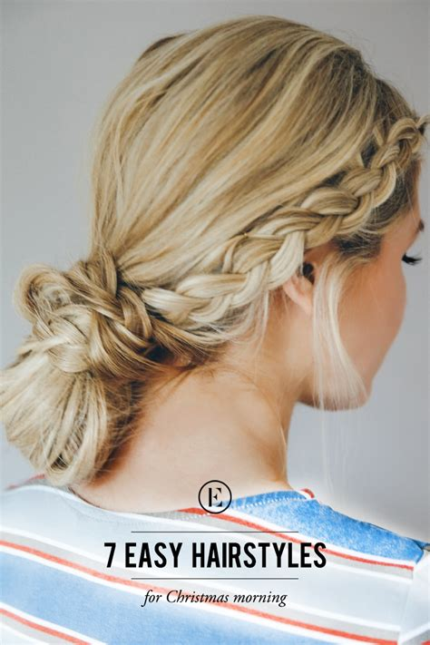 Easy Hairstyles by 7 Easy Hairstyles For Morning The Everygirl