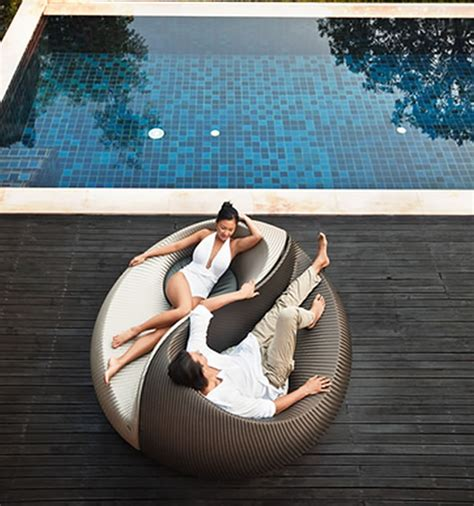 Cool Outdoor Lounge Chairs Design Ideas Unique And Unconventional Seating Design For Home Outdoor Furniture Yin Yang By Nicolas