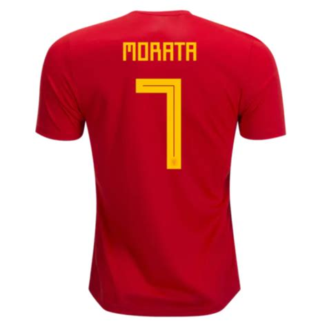 Polo Spain World Cup Team Ordinal Apparel spain 2018 world cup home alvaro morata 7 shirt soccer jersey dosoccerjersey shop