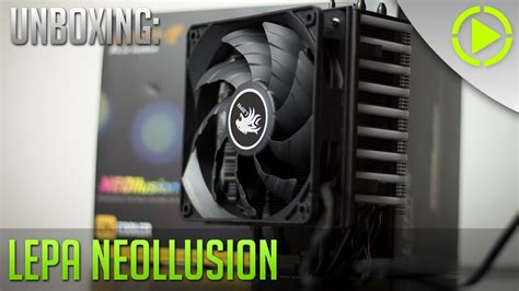 lepa neollusion rgb led cpu k 252 hler unboxing powered by