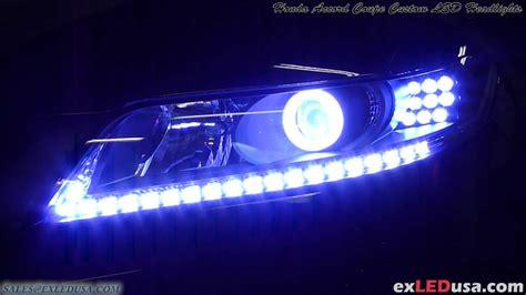 custom led lights exledusa honda accord coupe custom led headlights