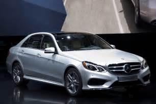 2014 mercedes e class lineup shows its freshened