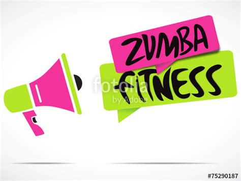 imagenes de i love zumba fitness quot m 233 gaphone zumba fitness quot stock image and royalty free