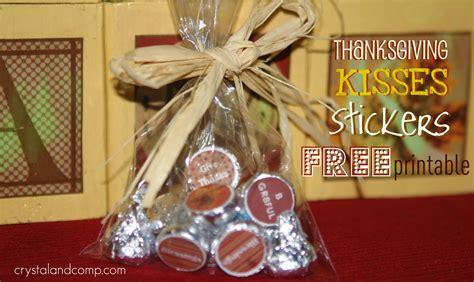 fall crafts thanksgiving hersheys kisses  printable