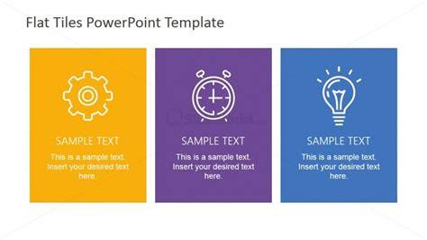 business card template three column three vertical column tiles powerpoint layout slidemodel