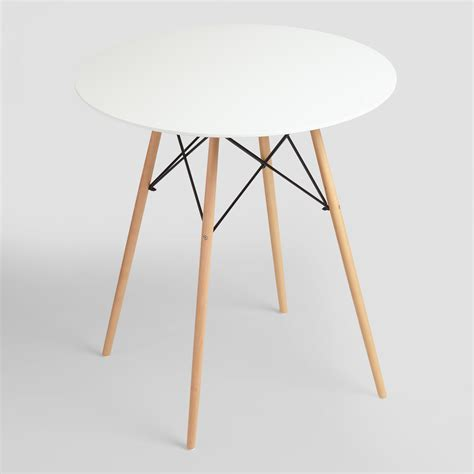 Small White Table L by White Lacquer Evie Pub Table Small 48 Quot L