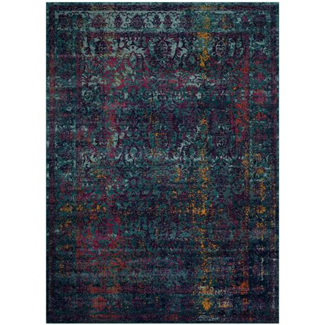 easy rugs nuloom iola easy shag blue 6 ft 7 in x 9 ft area rug ozsg18c 6709 the home depot