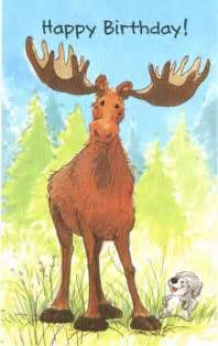 moose birthday card gangcraft net