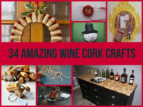 Creative Decorations For Home 34 Amazing Wine Cork Crafts