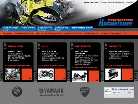 Bmw Motorrad Händler Tirol by Motorradsport Holzleitner Gbr In Winh 246 Ring Motorradh 228 Ndler