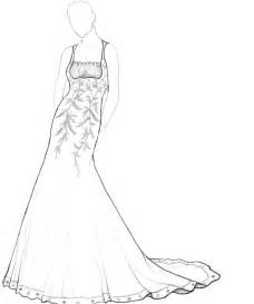 beautiful dress coloring page for girls womanmate com
