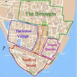 historic district map things to do in charleston sc the 5 neighborhoods