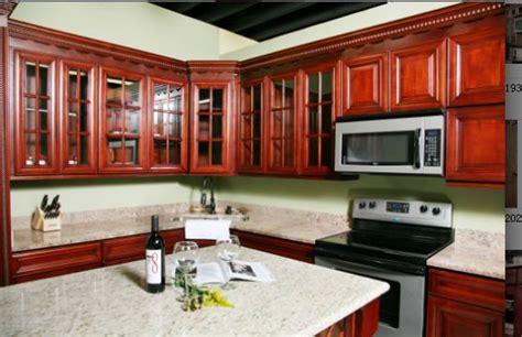 D8 Cherry Wood Kitchen Cabinet American Standard Furniture