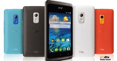 Handphone Acer Android Murah acer liquid z205 harga 750 ribuan hp musik android kitkat