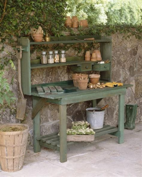 Garden Potting Bench Ideas Best 25 Potting Benches Ideas On Pinterest Potting Station Potting Tables And Shed Bench Ideas