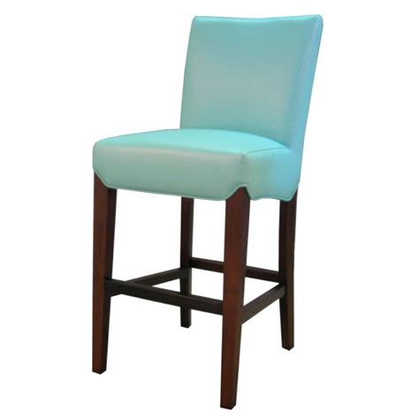 colored leather bar stools milton bounded leather counter stool
