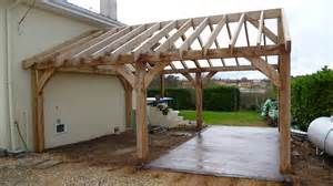 Garage Canopy Awning Garages And Car Ports Oak Timber Framing Amp Carpentry In