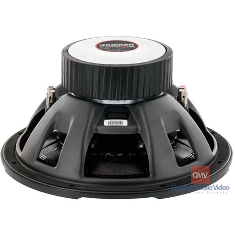 Kickers Woven kicker 43cwr154 compr 15 inch subwoofer dual 4 ohm voice