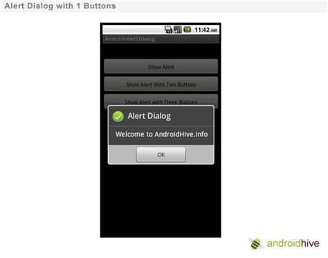alert android how to show alert dialog in android