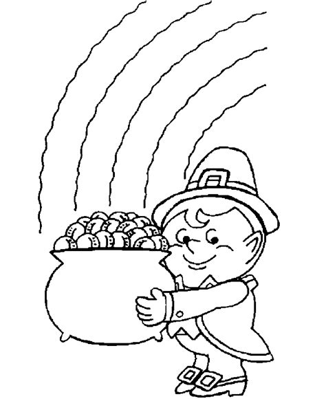 st patricks day printables coloring pages to print
