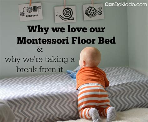 A Montessori Floor Bed And Baby Sleep Problems Cando Kiddo