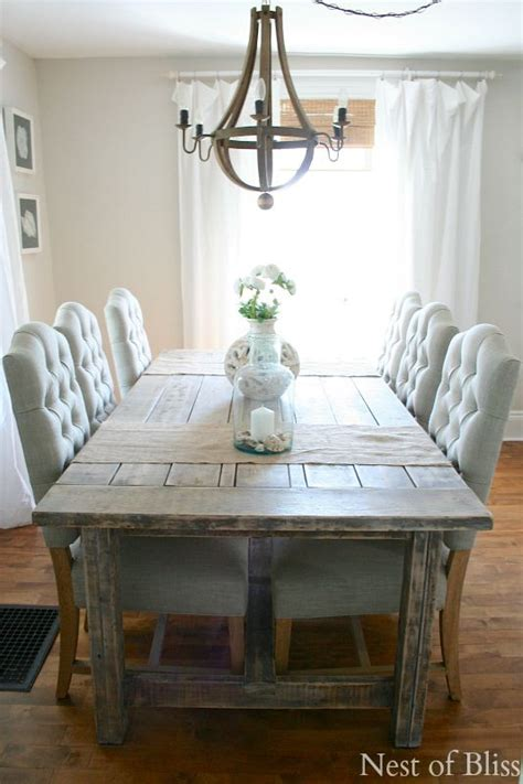 shabby chic louis dining gray dining table custom concrete kitchen and dining tables gorgeous