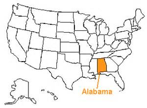 us map alabama state the us50 a guide to the state of alabama geography