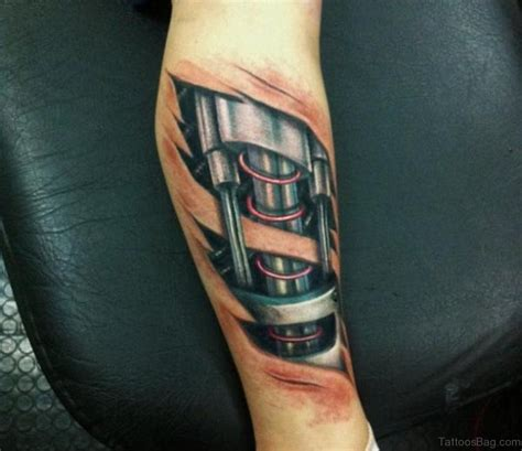 biomechanical tattoo for leg 61 fabulous biomechanical tattoos for leg