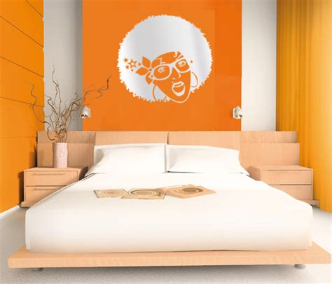 decorating bedroom walls creative bedroom wall art sticker ideas